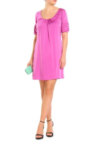 Платье Elie Tahari. Цвет: сиреневый