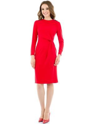 Платье Levall. Цвет: красный