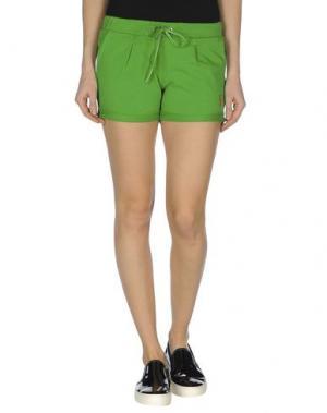 Повседневные шорты COOPERATIVA PESCATORI POSILLIPO. Цвет: зеленый