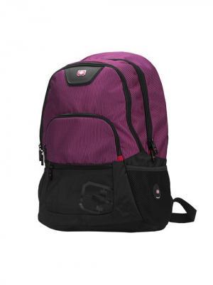 Рюкзак с отделением для ноутбука Continent. Цвет: темно-бордовый