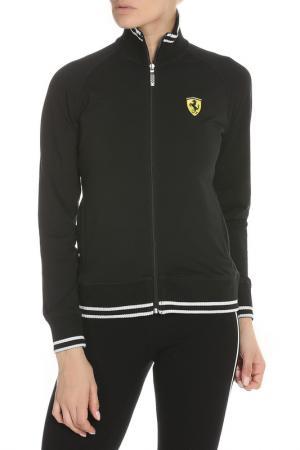 Олимпийка Ferrari. Цвет: черный