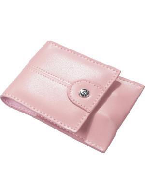 Маникрный набор  4 предмета GD. Цвет: бледно-розовый