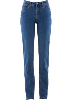 Классические джинсы-стретч, cредний рост N (синий) bonprix. Цвет: синий