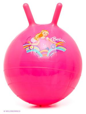 Мяч - попрыгунчик Барби Mondo. Цвет: розовый