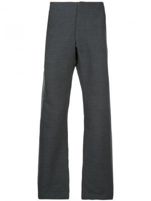 Широкие брюки Ma+. Цвет: серый