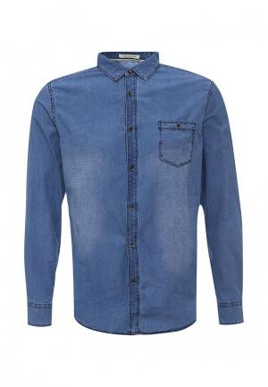 Рубашка джинсовая Tony Backer. Цвет: голубой
