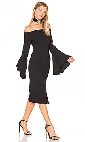 Платье solange Bardot. Цвет: черный