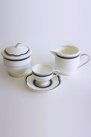 Сервиз кофейный на 6 персон Tognana. Цвет: белый