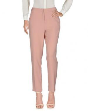 Повседневные брюки MINIMUM. Цвет: телесный