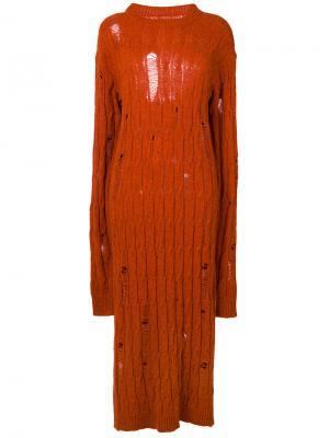 Джемпер Kiira Damir Doma. Цвет: жёлтый и оранжевый