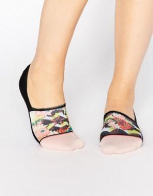 Stance Невидимые носки Okasaki. Цвет: мульти