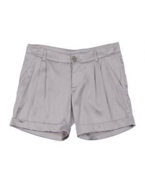 Повседневные шорты MANILA GRACE. Цвет: серый