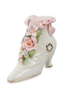Композиция Сапог с цветами (Pavone) Pavone. Цвет: белый, розовый