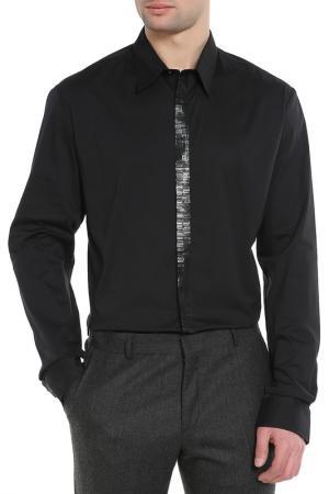 Рубашка CNC COSTUME NATIONAL C'N'C'. Цвет: черный