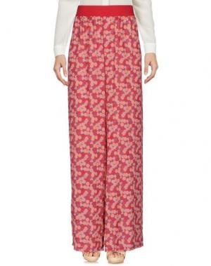 Повседневные брюки PAOLO CASALINI. Цвет: красный