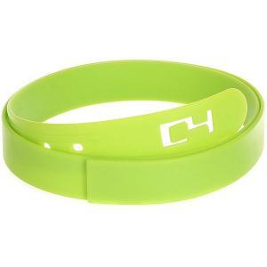 Ремень  Classic Belt Lime C4. Цвет: зеленый