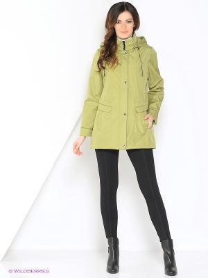 Куртка MERILYN Maritta. Цвет: зеленый