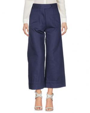 Повседневные брюки SESSUN. Цвет: темно-синий