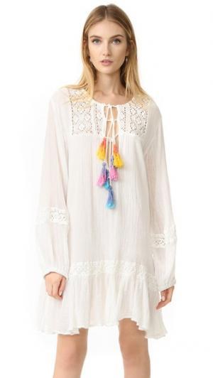 Пляжное платье-Мальва Jen's Pirate Booty. Цвет: белый/мульти