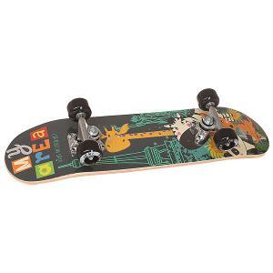 Скейтборд в сборе детский  Safari Multi 24 x 6 (15.2 см) Fun4U. Цвет: мультиколор