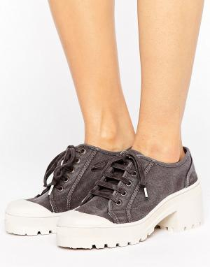 Park Lane Туфли на толстой подошве. Цвет: черный
