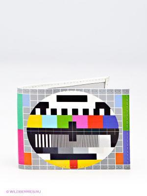 Обложка для студенческого Mitya Veselkov. Цвет: серый, красный, синий