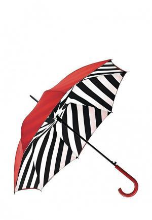 Зонт-трость Fulton. Цвет: красный