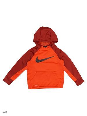 Худи B NK THRMA HOODIE PO Nike. Цвет: оранжевый