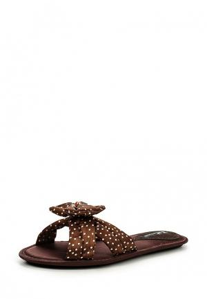 Тапочки Petit Pas. Цвет: коричневый