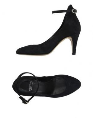 Туфли VALENTINA. Цвет: темно-синий