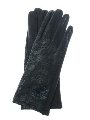 Перчатки Infiniti. Цвет: зеленый