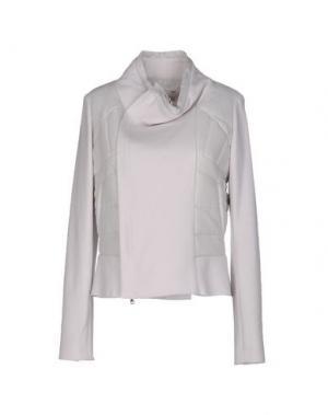 Куртка ALYSI. Цвет: светло-серый