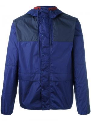 Спортивная куртка Eloi Moncler. Цвет: синий
