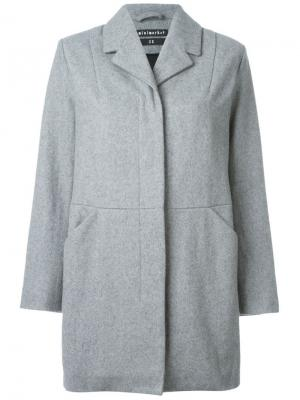 Пальто Jenny Minimarket. Цвет: серый