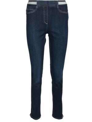 Зауженные джинсы ppep.. Цвет: синий