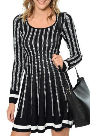 Платье Dewberry. Цвет: черный