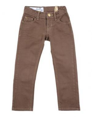 Джинсовые брюки HARMONT&BLAINE. Цвет: темно-коричневый