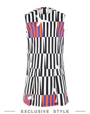 Короткое платье ARTHUR ARBESSER x YOOX. Цвет: черный