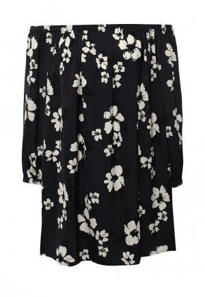 Блуза Dorothy Perkins Curve. Цвет: синий