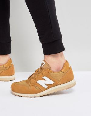 New Balance Светло-коричневые кроссовки 520 U520BF. Цвет: рыжий