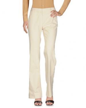 Повседневные брюки METRADAMO. Цвет: слоновая кость