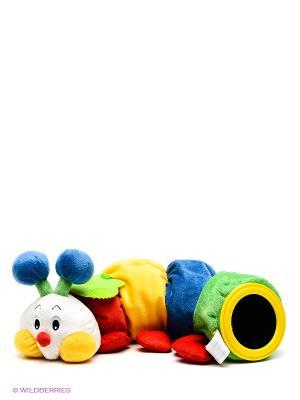 Развивающая мягкая игрушка Гусеничка с прорезывателем K'S Kids. Цвет: красный
