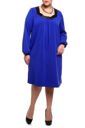 Платье Forus. Цвет: синий, черный