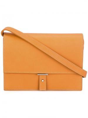 Маленькая сумка через плечо Pb 0110. Цвет: жёлтый и оранжевый