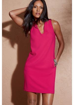 Платье Next. Цвет: ярко-розовый