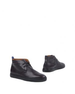 Полусапоги и высокие ботинки CAPPELLETTI. Цвет: баклажанный