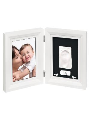 Рамочка двойная Классика; белый Baby Art. Цвет: белый