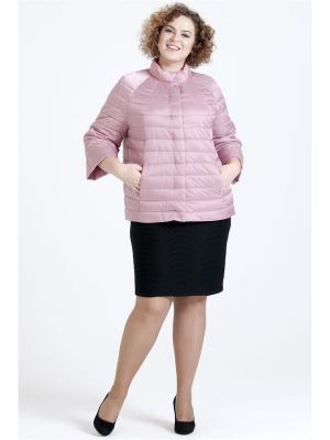 Куртка Modress. Цвет: сиреневый, лиловый, бледно-розовый, розовый