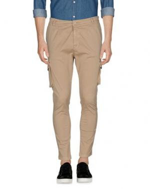 Повседневные брюки IMB I'M BRIAN. Цвет: бежевый