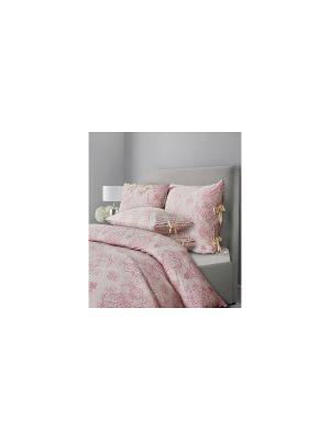 Комплект постельного белья SL Chalet Евро Пудровая роза Mona Liza. Цвет: розовый